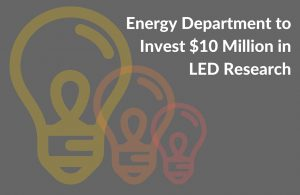 Energy Department invests $10 million