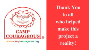 thank you camp courageous