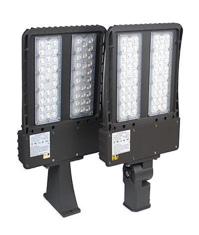LED shoebox fixtures