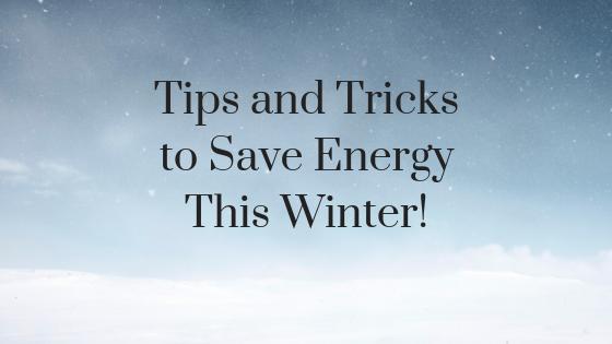 winter energy savings